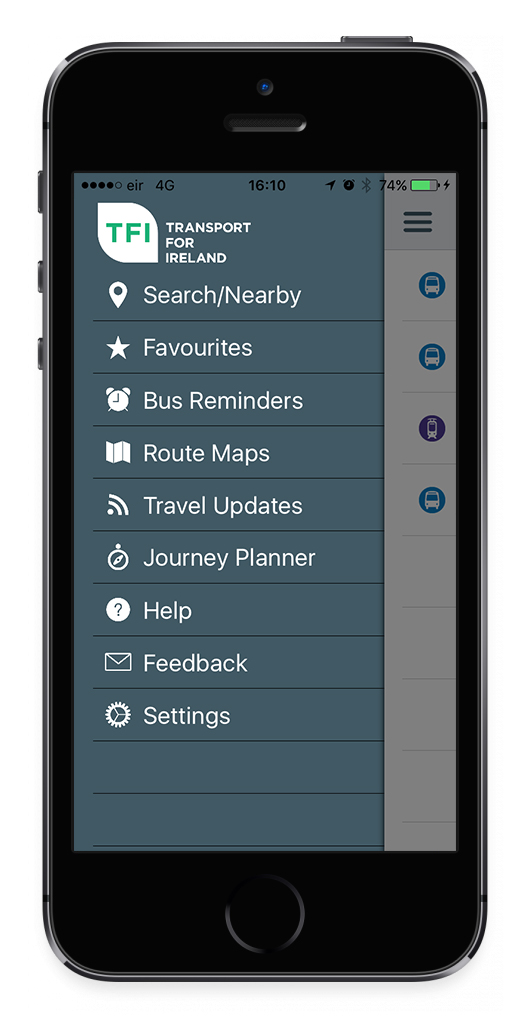 Transport For Ireland - Download Real Time App -
