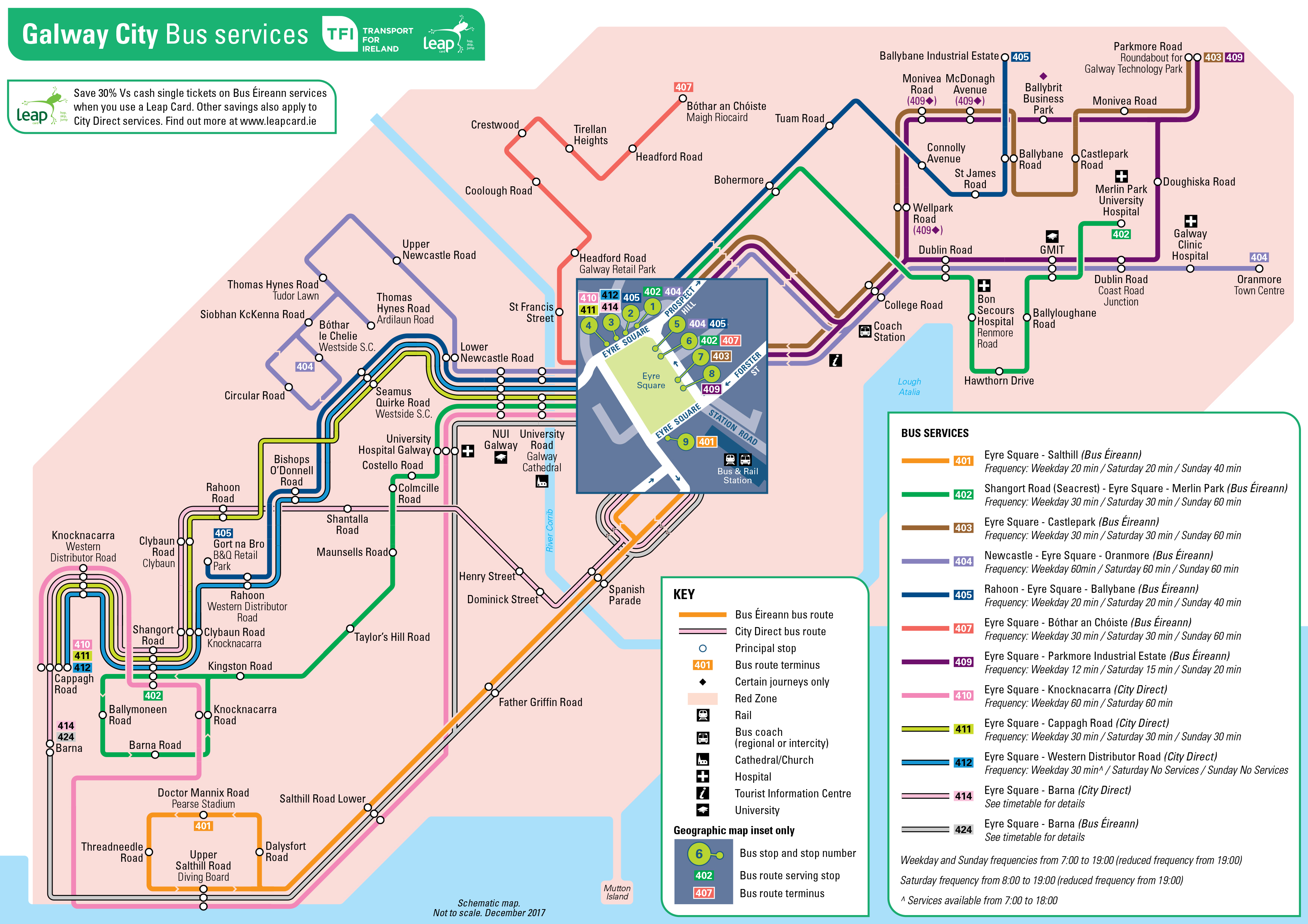 Train Travel In Ireland Map.Transport For Ireland Maps Of Public Transport Services