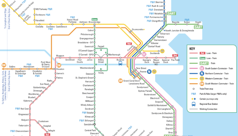 Network Maps | Transport for Ireland