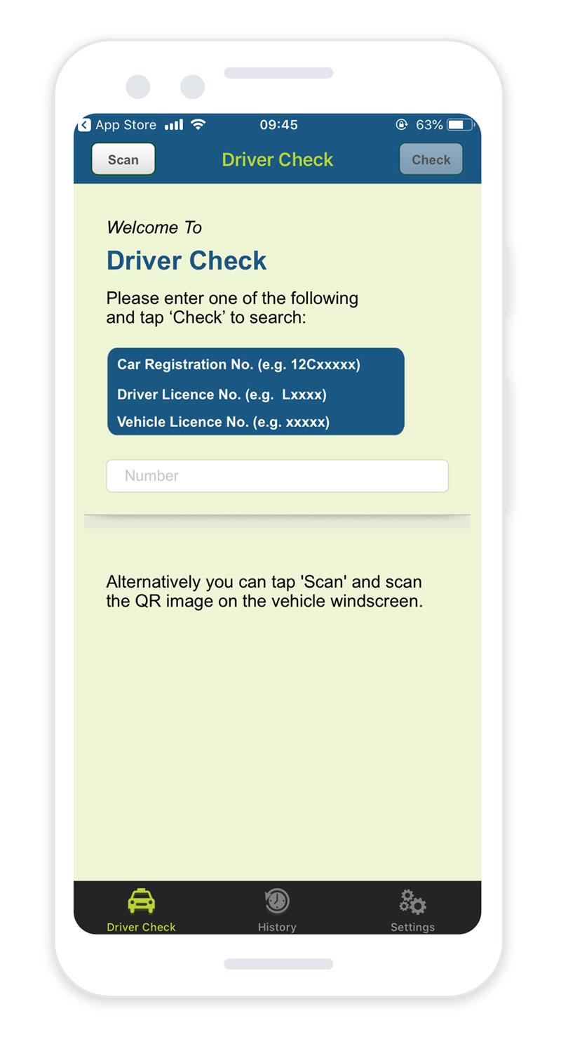 TFI Driver Check App