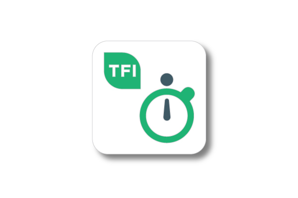 Real time app icon