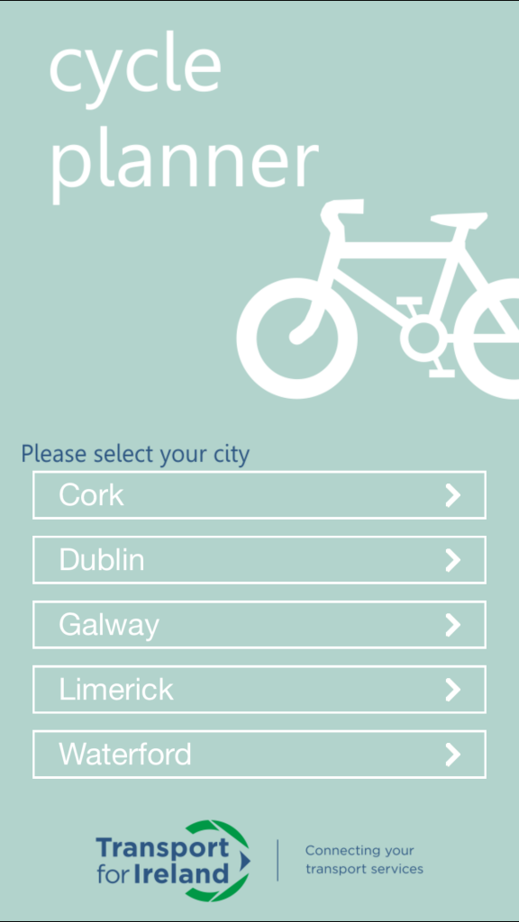 City Cycle Planner