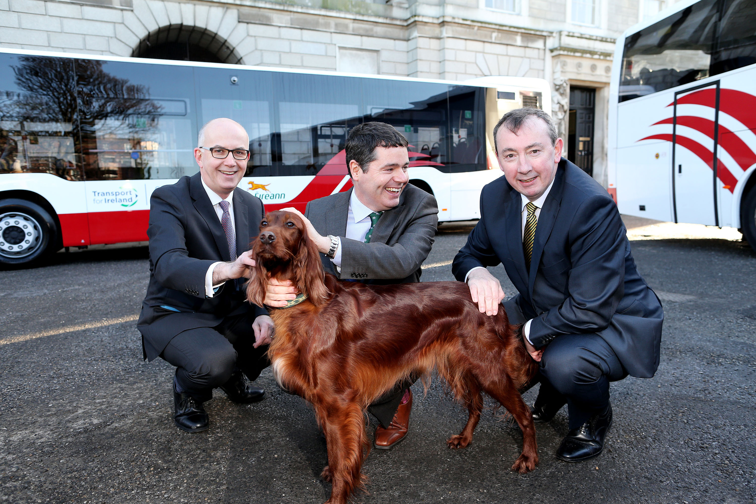 Transport For Ireland - Fleet of the Future: Over 100 new buses for
